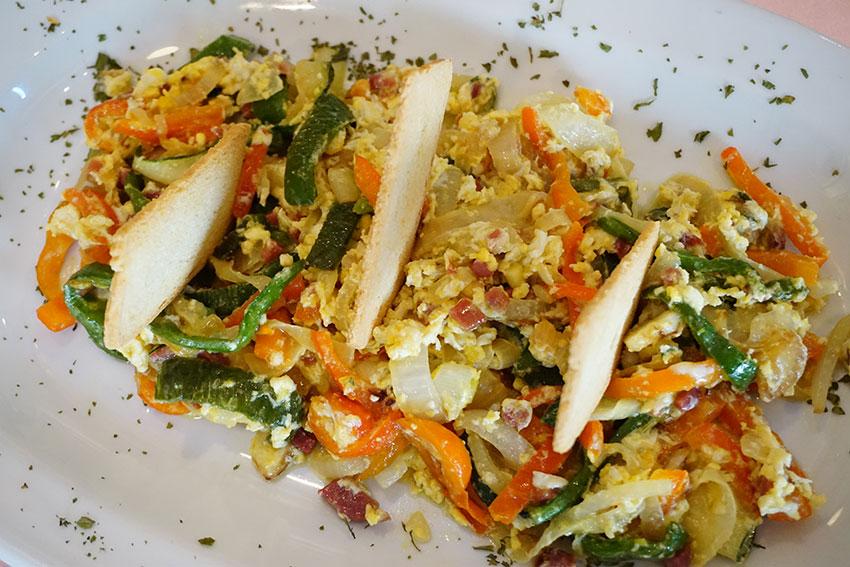Revuelto de verduras